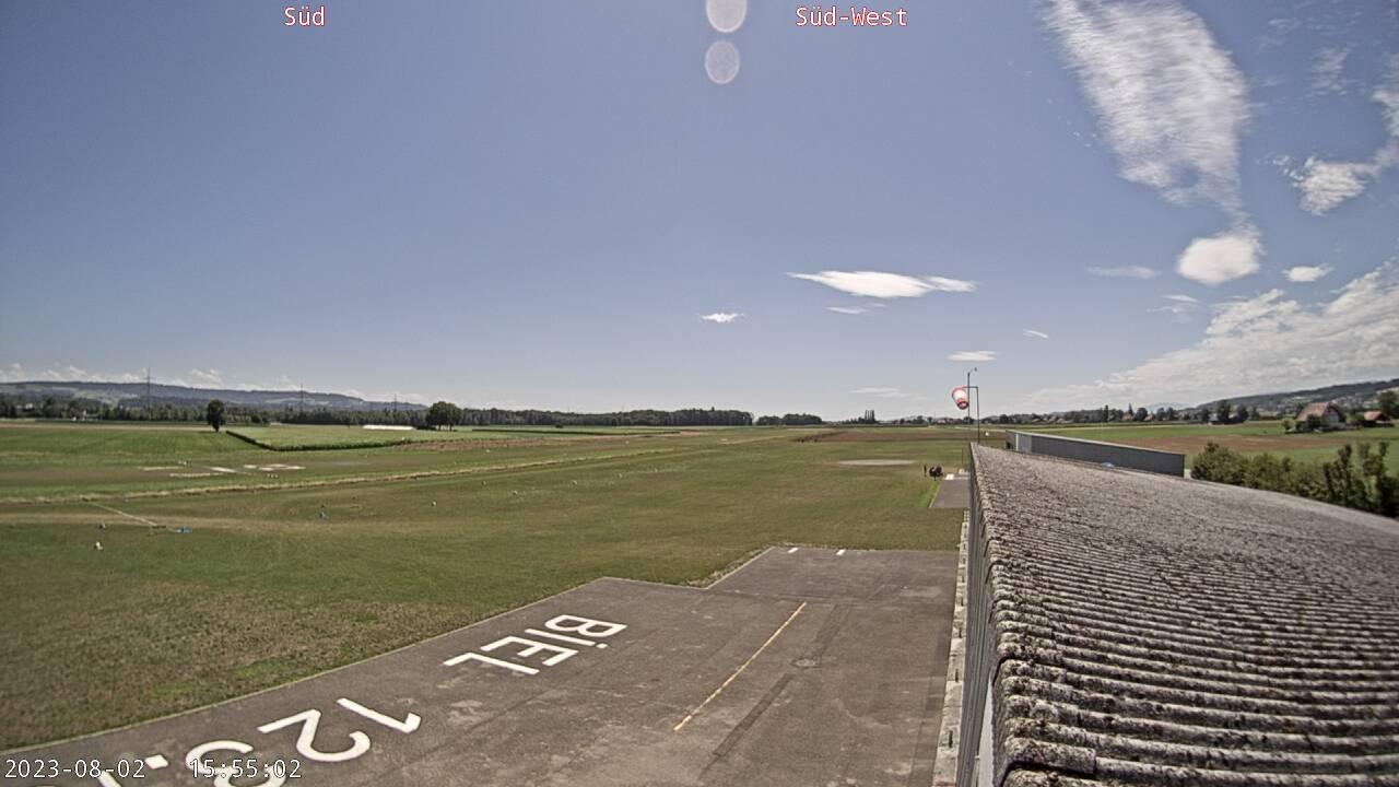 Biel Kappelen Flugplatz LSZP S